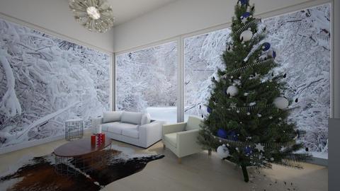 Christmas - Living room - by katarinalaaksonen