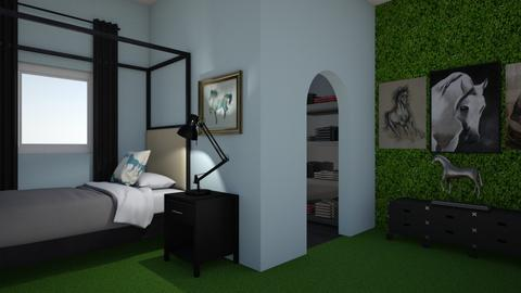 Teen likes horses 2 - Modern - Bedroom - by Perpetto