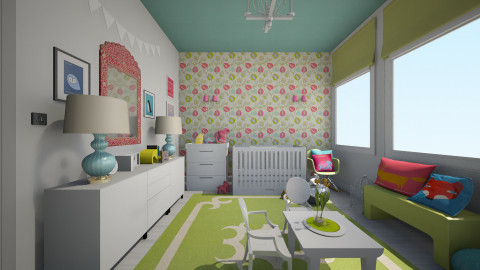 pv - Eclectic - Kids room - by nataliaMSG
