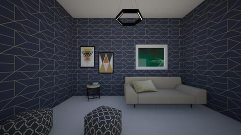 Geometric - Living room - by luckyducky102