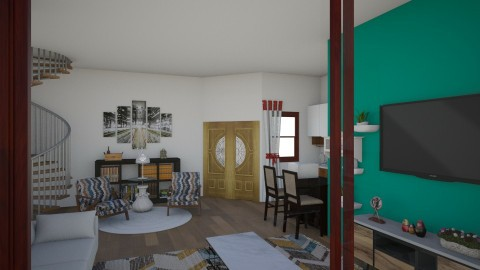Sala de estar - Classic - Living room - by Jessica Meireles