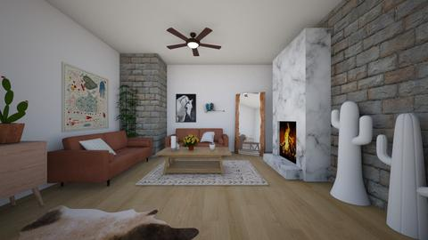 cottage - Living room - by dena15