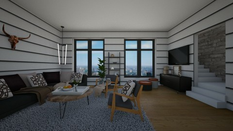 254 Inspiration Living Room - by Agata_ody