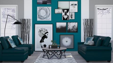 BW Art Collection - Modern - Living room - by millerfam