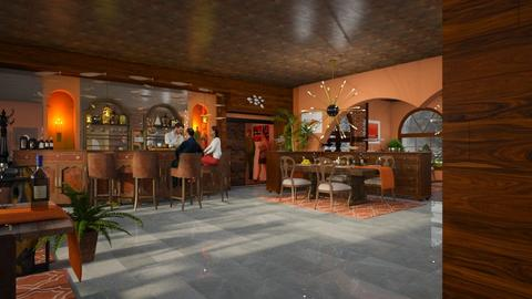 Salmon Restaurant - by ZsuzsannaCs