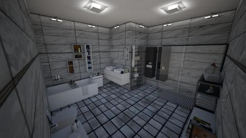 Gris - Bathroom - by kellynazha