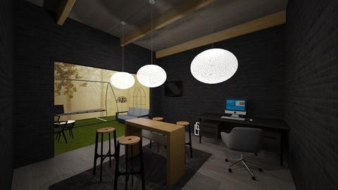 Elegant Office by Jake - Modern - Office - by JakeMaster3899