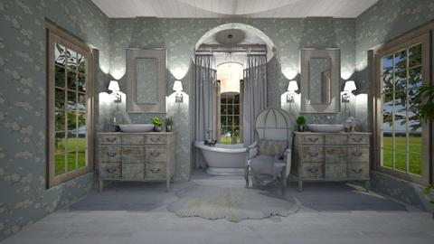 shabby chic bathroom - Bathroom - by willhenning