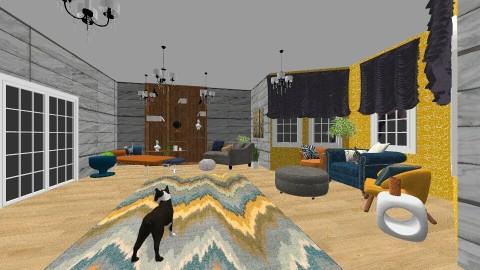 Living room 2 - by rachel_voke