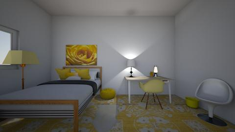 room _not done yet_ - Bedroom - by luli88