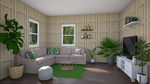 Green summer - Living room - by Louise Hedlund