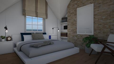 Attic  - Bedroom - by Tuija
