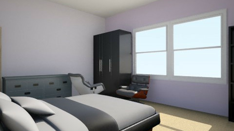 Simple - Bedroom - by Rebecca Arce