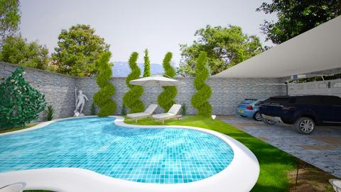 FRIDA Design 24 Pool - Modern - Garden - by michellitamuralles