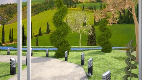 NR Folding Door - Garden - by TammieLynne