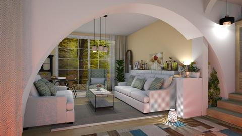 M_Archway - Living room - by milyca8
