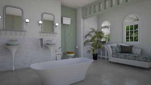 MCM Bathroom - Bathroom - by ElleP