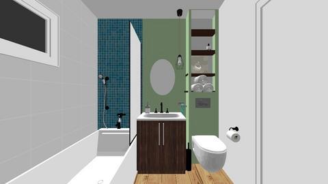 Mirela Badalan matrm - Bathroom - by Flori Santa