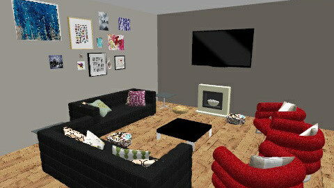 Room 105 - Vintage - Office - by liller
