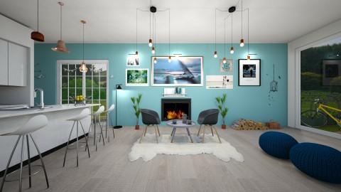 Green Village Cafe - by leendave