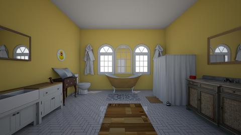 Yellow Bathroom - Bathroom - by 18ssnyde