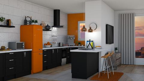 kitchen - by Talia Fernanda