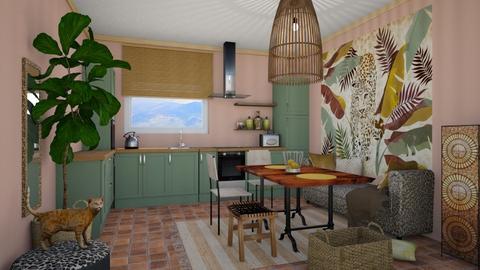 Jungle - Kitchen - by chania