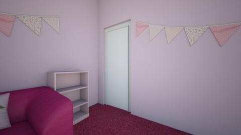 PINK - Feminine - Kids room - by Afreen Badal