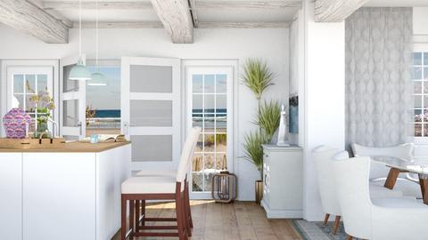 East Coast Ocean Life - Dining room - by GinnyGranger394