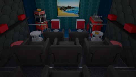 Home cinema - by The quiet designer