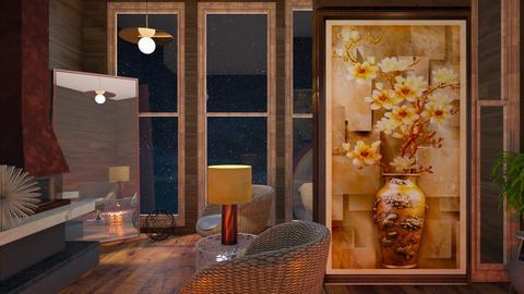 Magnolia Vase  - Living room - by Suebonstra