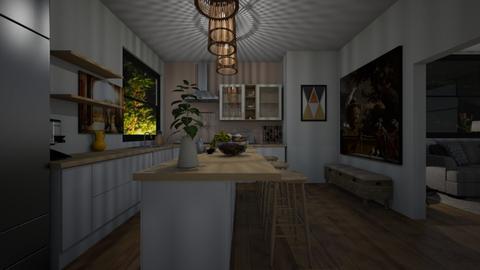 Design 20 ALME - Kitchen - by michellitamuralles