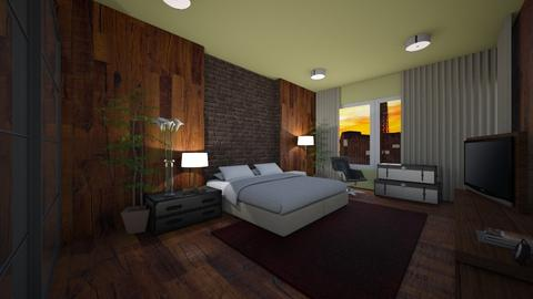 Lifeisbetter BedA - Modern - Bedroom - by Natt Vasconcelos