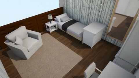 Simple Bedroom - Bedroom - by Sarah Corrie
