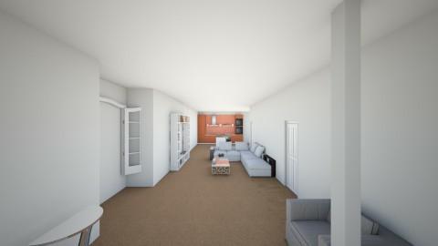 la casa  - Retro - Office - by 23MunozCaballeroA
