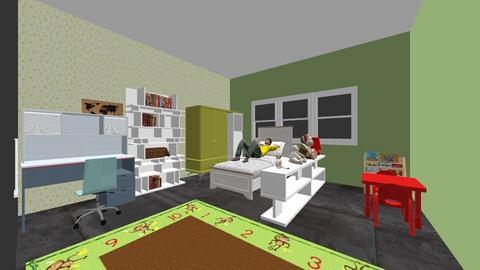 js_rooms_4_1 - Kids room - by leeztyle