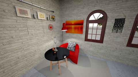 Mid Century Modern - Living room - by  kira