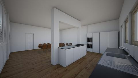 keuken 2 - Kitchen - by esthermenken