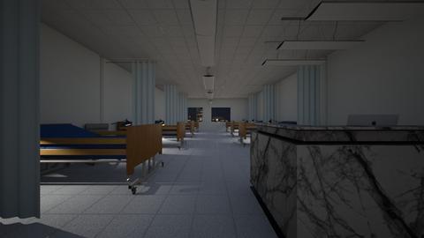 Hospital Ward 1 - Bedroom - by SammyJPili