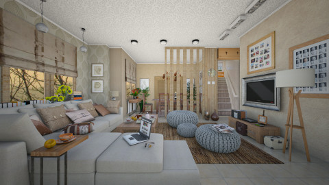 sunrise  - Eclectic - Living room - by Ida Dzanovic