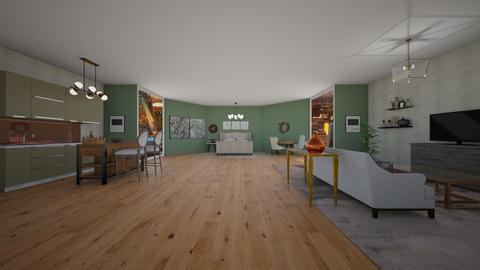 studio apartment 2 - by Meredith Crummey