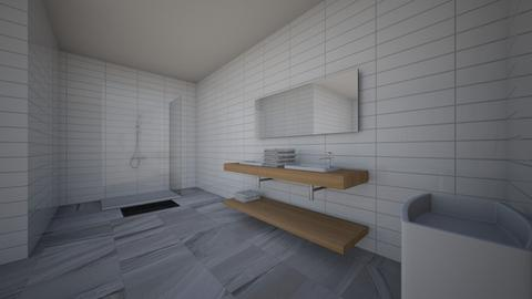 bathrrom - Modern - Bathroom - by kbunn37