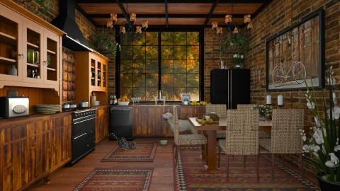 Design 182 Eat In Kitchen - Kitchen - by Daisy320