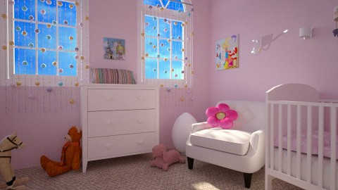 Meisjeskamer daydetail - Classic - Kids room - by Perta