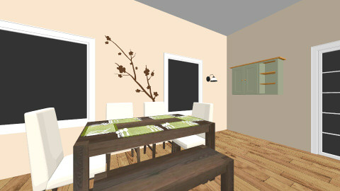Farmhouse Kitchen - Rustic - Kitchen - by awsomeprincess