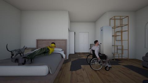Granny - Bedroom - by spillanesarah