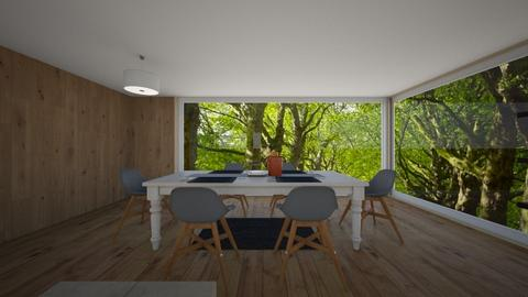 treetop kitchen - Kitchen - by henry turnbull
