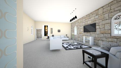 Living Room View 2 - Modern - Living room - by Javonw