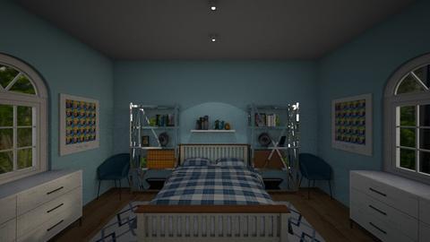 Blue moon - Modern - Bedroom - by muleok