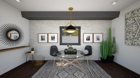 Good Morining - Dining room - by tiffngrace729